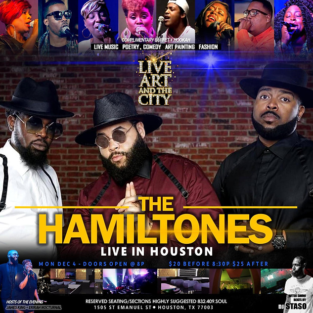 HAMILTONES LIVE IN HOUSTON