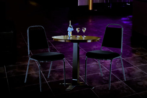VIP TABLE w/ CHAIRS (SEATS 2)