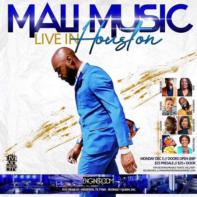 MALI MUSIC LIVE IN HOUSTON