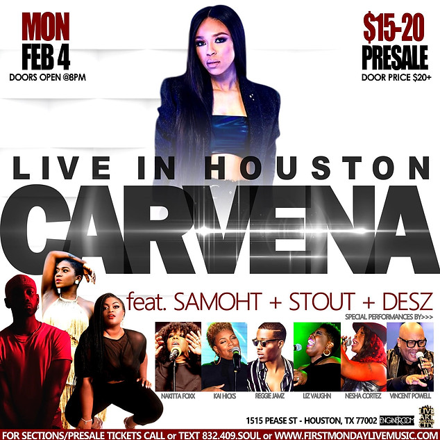 CARVENA LIVE IN HOUSTON