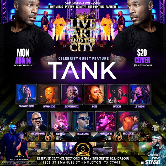 TANK LIVE IN HOUSTON