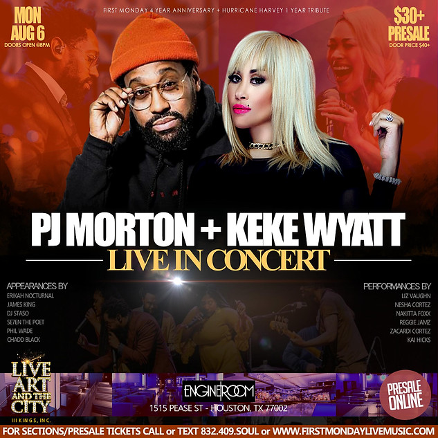PJ MORTON & KEKE WYATT LIVE IN HOUSTON
