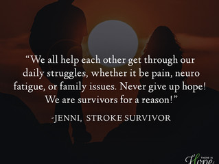 """We all help each other get through..."" - Jenni's Survivor Story"