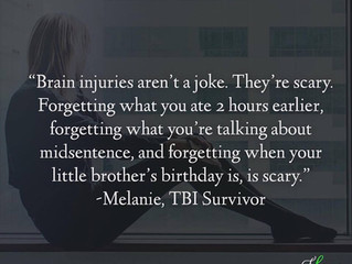 """Brain injuries aren't a joke. They're scary."" - Melanie's Survivor Story"