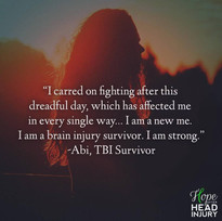 """I am a new me..."" - Abi's Survivor Story"