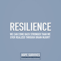 Resilience - through Stroke & Brain Abscess - Don't Count Me Out! (Episode 15)