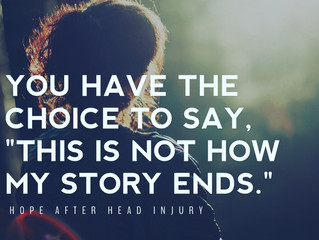 This is not how my story ends.