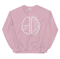 Hope Healing Brain Sweatshirt (Pink)