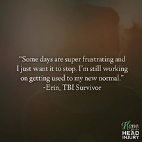 """""""I'm still working on getting used to my new normal."""" - Erin's Survivor Story"""