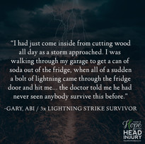 3X Lightning Strike Survivor causing ABI - Gary's Survivor Story