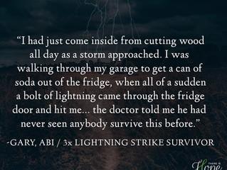 3X Lightning Strike Survivor causing ABI - Gary's Survivor Story
