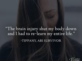 """""""I had to re-learn my entire life..."""" - Tiffany's Survivor Story"""