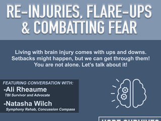 Re-Injuries, Flare-Ups, and Combatting Fear (Episode 9)