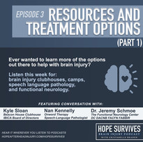 Resources & Treatment Options: Functional Neurology, Speech Pathology, Clubhouses & Camps(Episode 3)