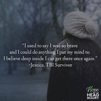 """I used to say I was so brave..."" - Jessica's Survivor Story"