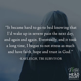 """It became hard to go to bed knowing I'd wake up in severe pain..."" - Kayleigh's S"