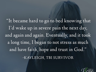 """""""It became hard to go to bed knowing I'd wake up in severe pain..."""" - Kayleigh's S"""