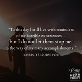 """To this day I still live with reminders..."" - Chris's Survivor Story"