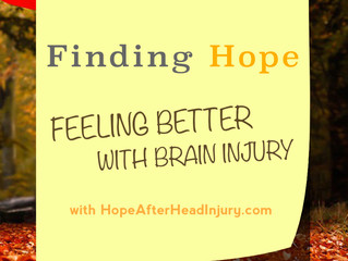 Finding Hope: Feeling Better With Brain Injury / Fall 2015
