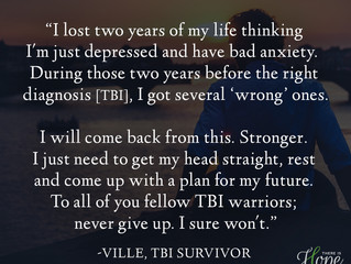 """""""I will come back from this..."""" - Ville's Survivor Story"""