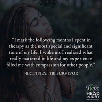 """I realized what really mattered in life..."" - Brittney's Survivor Story"