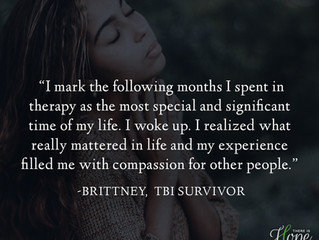 """""""I realized what really mattered in life..."""" - Brittney's Survivor Story"""