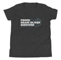 Kids/Youth Proud Brain Injury Survivor Shirt