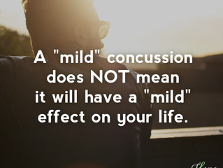"""What is a """"Mild"""" Concussion? - National Concussion Awareness Day"""