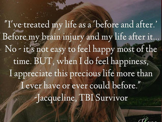 """Before and after..."" Jacqueline's Survivor Story"