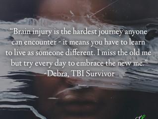 """I miss the old me..."" Debra's Survivor Story"
