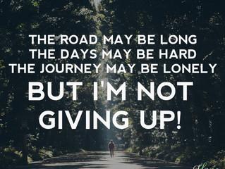 The Road May Be Long...