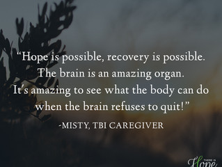 """Hope is possible..."" - Misty's Caregiver Story"