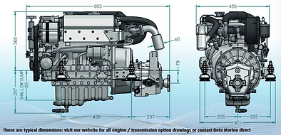 45T Replace Dimensions