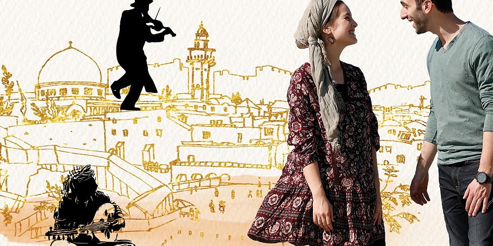 Pessach Musical Tour of Jerusalem with Yonina
