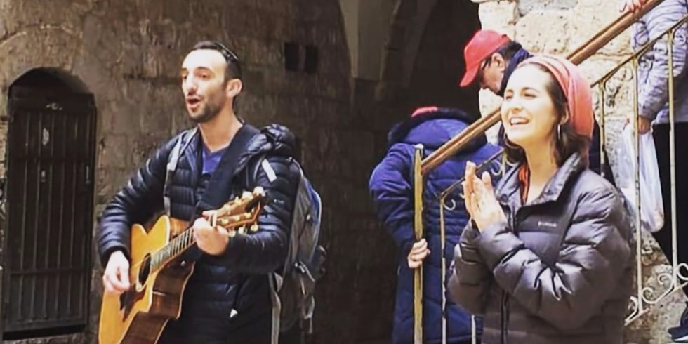 Musical Tour of Jerusalem with Yonina- February 18th