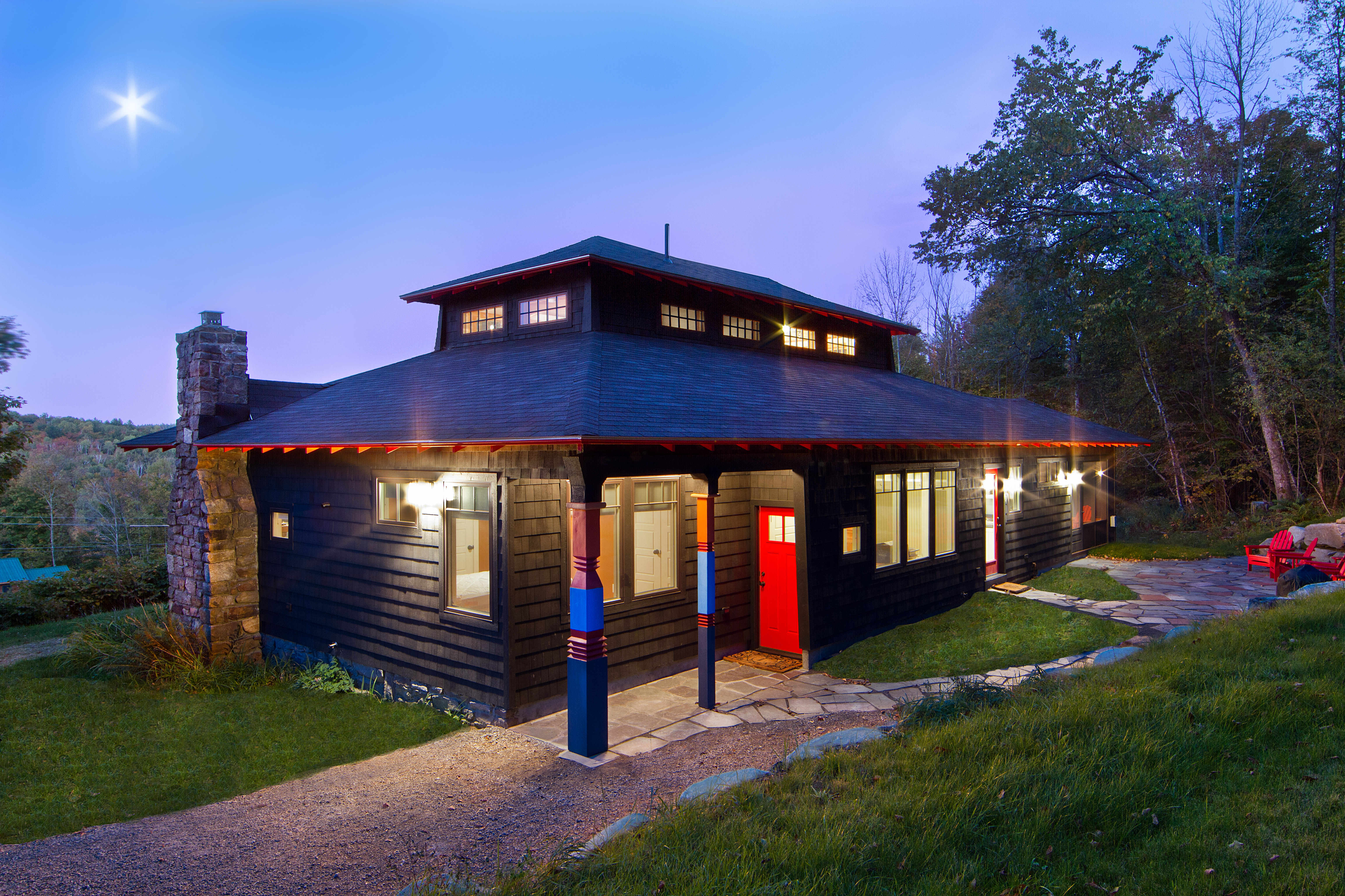 North Creek, NY Custom Home