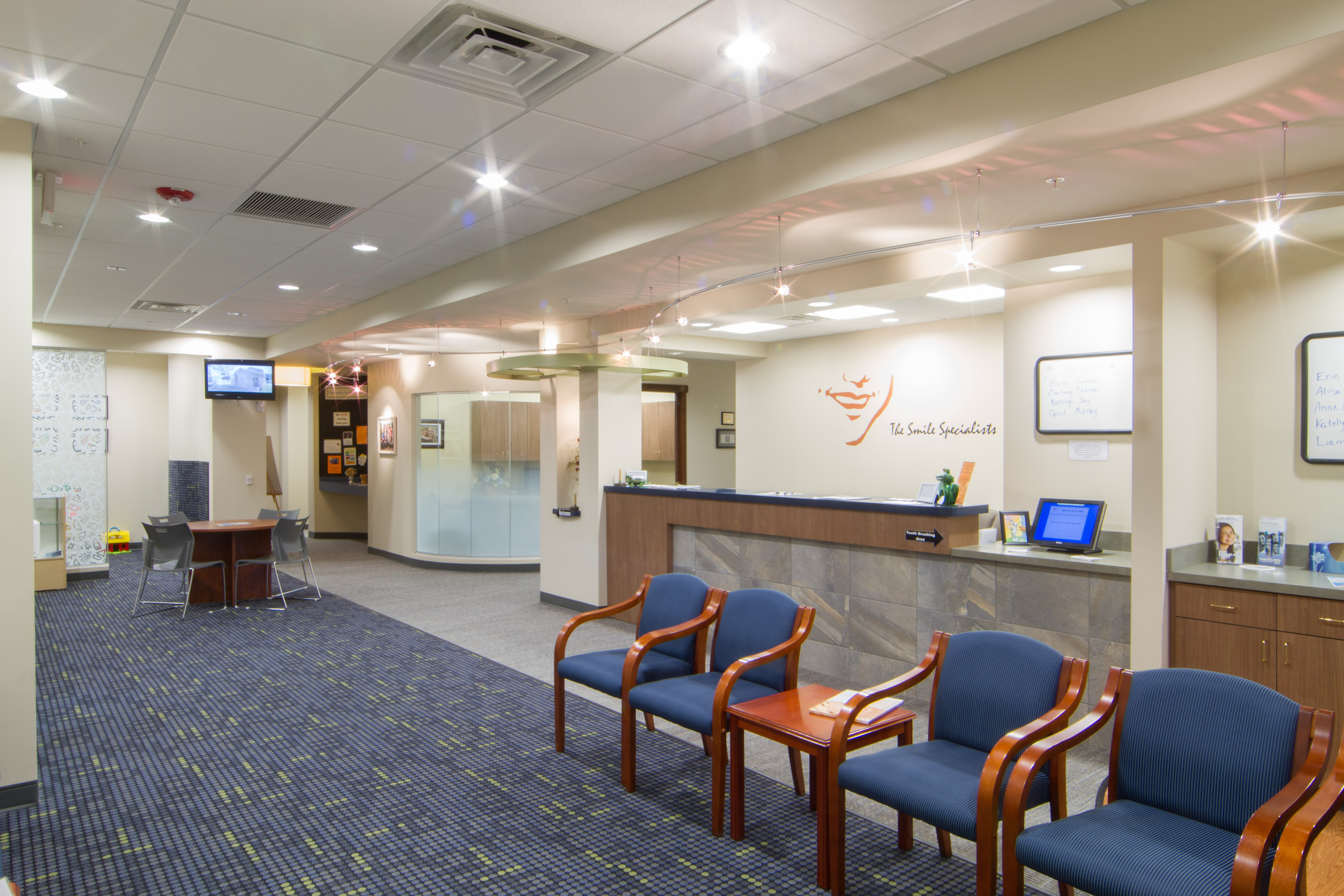 McSurdy Medical Building front Desk