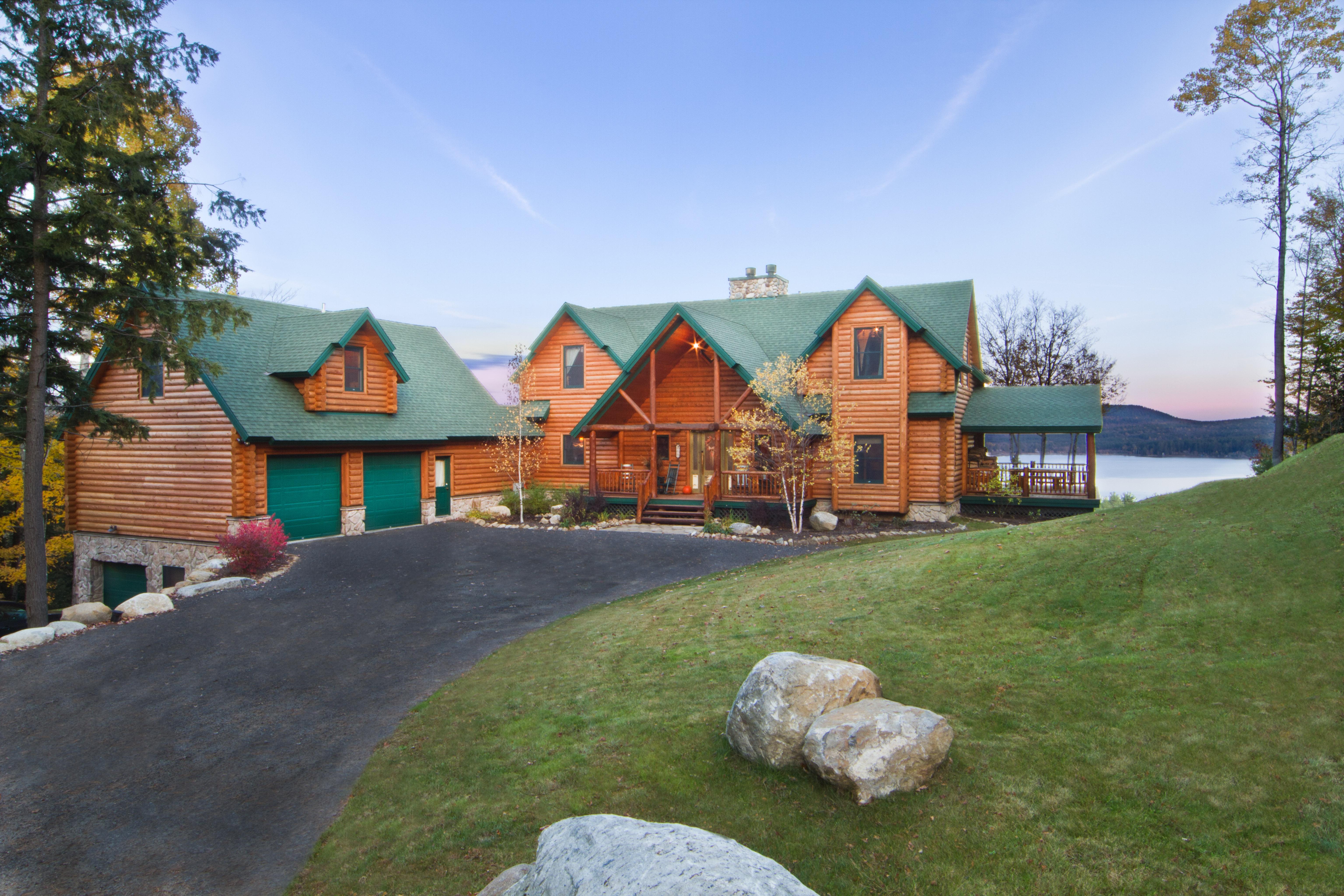 Schroon Lake Custom Home