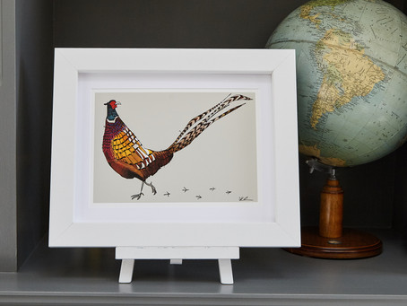 Gallop ahead in the style stakes this Christmas with unique, British made illustrated gifts