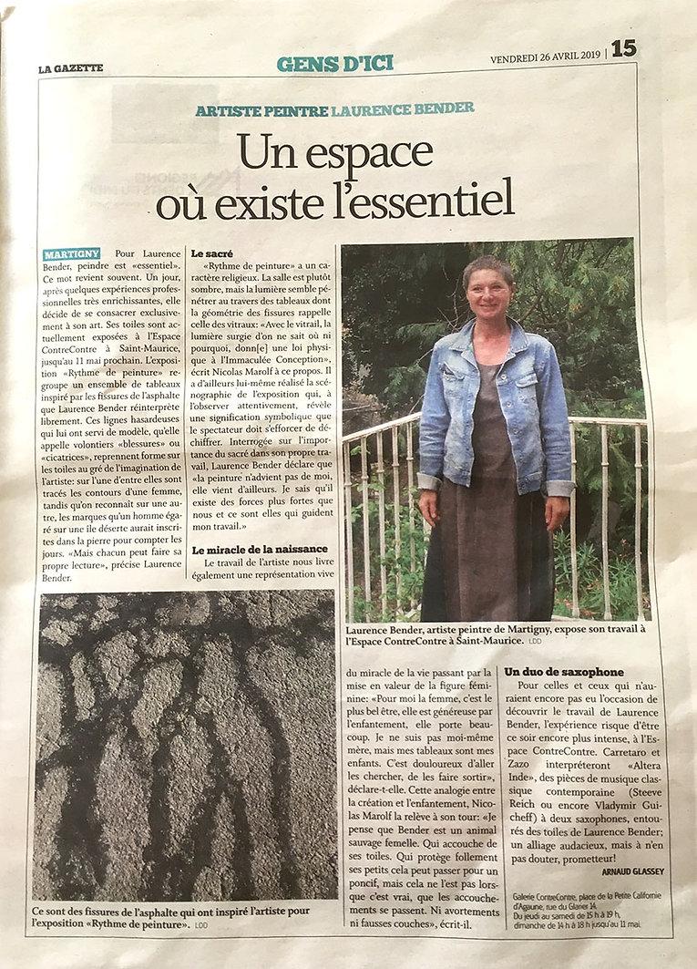 2019.04.26_La Gazette Martigny_Expo Bend