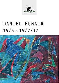 Affiche Daniel Humair_Galerie ContreCont