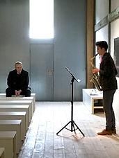 Sara Zazo et le compositeur-Roland-Willma