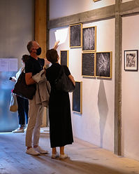 Vernissage expo Daniel Salzmann & Isabel