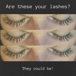 Are these your lashes-