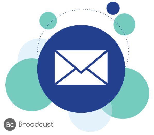 Broadcust email service