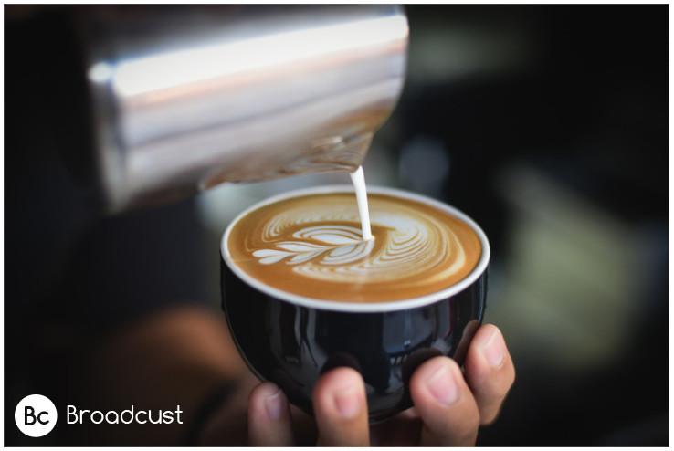 ברודקאסט מערכת שיווק למסעדות ובית קפה