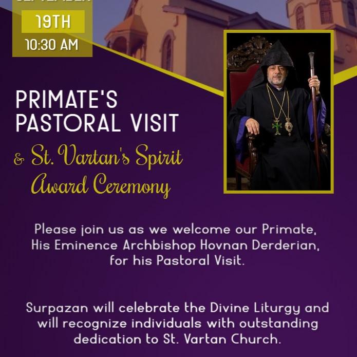 Primate's Pastoral Visit