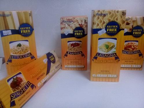 Pastas de arroz gluten free
