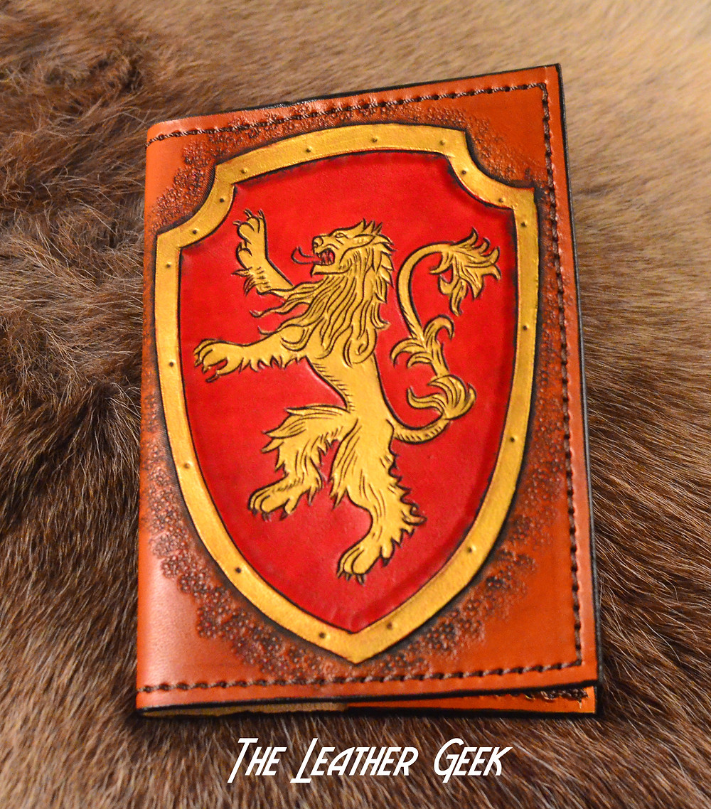 Leather Geek Lannister Journal