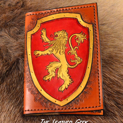 Lannister Game of Thrones Refillable Leather Journal